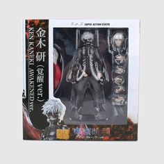 Tokyo Ghoul Ken Kaneki Awakened Ver. Action Figure Anime Model Doll Collections