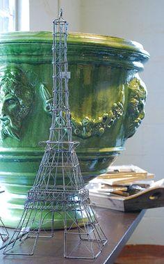 Eiffel Tower Wire Art | Online Garden Store