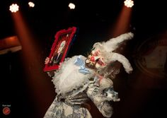 The Lettingo Cabaret # ORFEO ACADEMIA. #Paris #cabaret #whiterabbit #boylesque #aliceinwonderland #lapinblanc #AlekseiVonWosylius