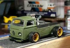 Vw Pickup, Tyre Shop, Drift Trike, Custom Hot Wheels, Diecast Model Cars, Slot Cars, Model Building, Tamiya, Scale Models