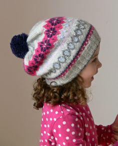 Benetton hat - fair isle knitting tips for beginners