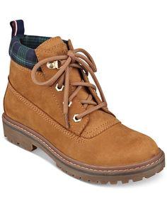 49e1aac7e113 Tommy Hilfiger Women s Tassie Hiker Booties - Boots - Shoes - Macy s Tommy  Hilfiger Women