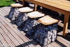 Easy gabion garden projects