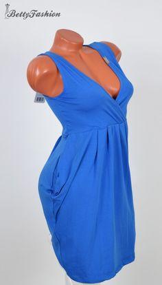 0b72c70415 Mellnél átlapolt zsebes tunika S/M/L - BettyFashion női ruha webáruház, Ruha