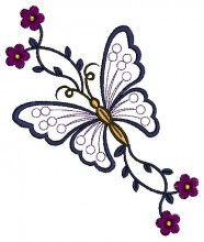 name:machine embroidery design. Butterfly Quilt, Butterfly Drawing, Butterfly Embroidery, Hand Embroidery Designs, Ribbon Embroidery, Embroidery Patterns, Machine Embroidery Applique, Embroidery Stitches, Polychromos