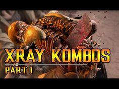 MKX: XRAY KOMBOS part 1 Mortal Kombat X, Movie Posters, Film Poster, Popcorn Posters, Film Posters, Posters