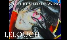 Imperfect squares: Horror Anime Anti heroes on a T-shirt : Lelouch