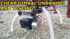 Cheap ebay gimbal unboxing and testing on DJI F450 Action, Ebay, Group Action