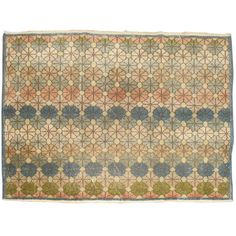 Vintage Anatolian Rug | From a unique collection of antique and modern turkish rugs at http://www.1stdibs.com/furniture/rugs-carpets/turkish-rugs/