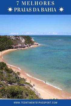As praias da Bahia, assim como a maioria das praias do Nordeste, são caracterizadas por extensos coqueirais, areia macia, água morna e podem ser apreciadas durante todo o ano. Com tantas opções para escolher, eu decidi fazer uma lista das 7 melhores praias da Bahia, para que da próxima vez que você visitar este estado ímpar e extraordinário, você saiba para onde ir 😉 #Bahia #praias #praiasdabahia