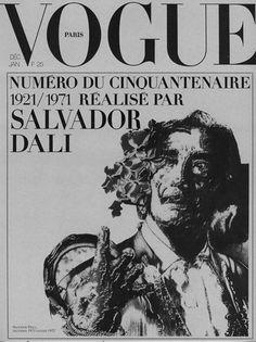 Dali 1971 Vogue Paris.(depuis Paris et Dali)