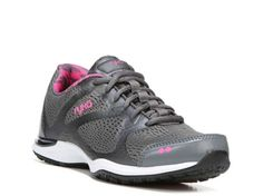 Women's Ryka Grafik Knit Training Shoe -  - Charcoal/Pink