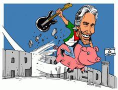 Roger Waters Pink Floyd The Wall Israël apartheid