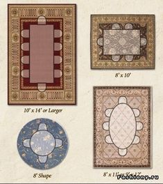Area Rug Size Guide For Dining Rooms