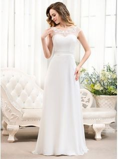 Wedding+Dresses+-+$156.99+-+A-Line/Princess+Scoop+Neck+Sweep+Train+Chiffon+Tulle+Charmeuse+Wedding+Dress+With+Beading+Appliques+Lace+Sequins+Bow(s)++http://www.dressfirst.com/A-Line-Princess-Scoop-Neck-Sweep-Train-Chiffon-Tulle-Charmeuse-Wedding-Dress-With-Beading-Appliques-Lace-Sequins-Bow-S-002052763-g52763