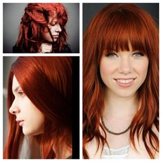 Great Hair Colors: Inspiration and Formulation for Miss Scarlet Fever