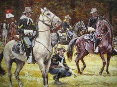 Fresh Tracks Sergeant by Don Stivers