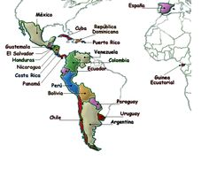map of the spanish speaking world - Google Search