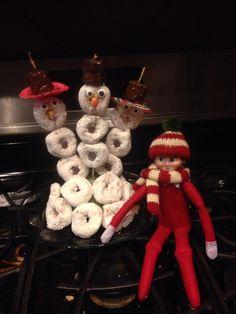 Snowmen for breakfast