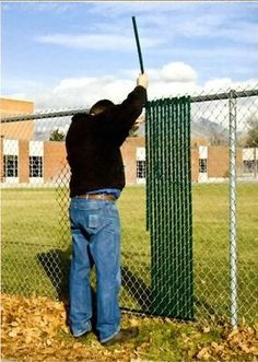 Green Privacy Fence Slats (for 6' Chain Link) - Amazon.com