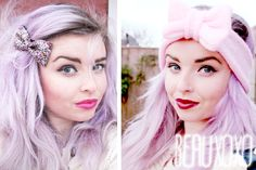 Vlogger Helen Melon is one of our ultimate style crushes! Get incredible pastel hair like hers with MANIC PANIC hair dyes and our Pastelizer creme base. http://www.manicpanic.biz/store/p/1513-Manic-Mixer-Pastel-izer-Classic-Cream-Formula.aspx
