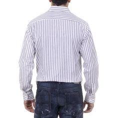 41 IT - 16 US Versace 19.69 Abbigliamento Sportivo Srl Milano Italia Mens Classic Neck Shirt 377 VAR. 515
