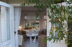 Landliv med sjel og sjarm: Hage glede Outdoor Rooms, Outdoor Dining, Outdoor Gardens, Outdoor Decor, Garden Pool, Garden Landscaping, French Country House, Country Houses, Southern Porches