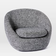 Cozy Swivel Chair | West Elm Living Room Chairs, Dining Chairs, Desk Chairs, Bag Chairs, Lounge Chairs, Kitchen Chairs, Living Area, Tree Stump Side Table, Cozy Chair