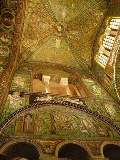 """Basilica di San Vitale"", Ravenna Italia (Marzo)"