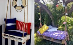 How to re-purpose pallets into simple sofa, How to, how to do, diy instructions, crafts, do it yourself, diy website, art project ideas