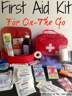 first aid box checklist pdf