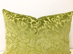 Olive Green Pillow Cover, Velvet Pillow, Green Throw Pillow, Decorative Pillows, Velvet Cushion, Olive Green Couch Sofa Pillow Case Covers by duruhome on Etsy