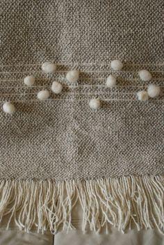 When in doubt, throw in a squishy polka dot 😂👌 Loom Weaving, Hand Weaving, Roman Clock, Creative Textiles, Metal Clock, Yarn Thread, Weaving Textiles, Fabric Yarn, Weaving Projects