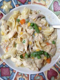 creamy chicken & noodles- 7 PP per serving (makes 6 servings)