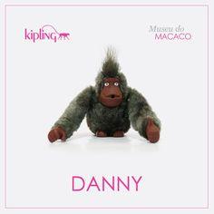 Você sabia que a Kipling tem muitos macacos especiais? Esse é o macaco Danny! Venha conhecer os outros ;)