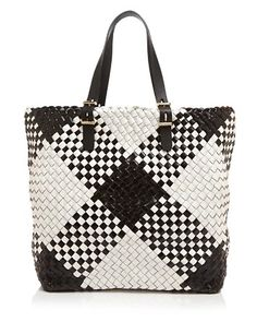 Furla Tote - Atelier Large Woven Handbags - All Handbags & Wallets - Bloomingdale's Handmade Handbags, Handmade Bags, Lace Bag, Furla, Craft Bags, White Handbag, Denim Bag, Beaded Bags, Purses And Bags