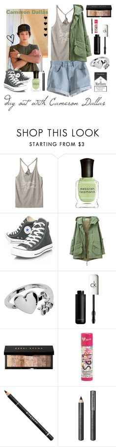 """day out with Cameron Dallas"" by directioner1dfrench ❤ liked on Polyvore featuring Deborah Lippmann, MTWTFSS Weekday, Converse, Monki, CK One, Bobbi Brown Cosmetics, Aéropostale, Givenchy, Burberry and Lauren Ralph Lauren"