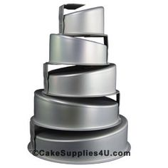 How To Stack Topsy Turvy Cake Pans