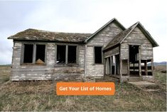 Free Weekly List of Homes $50,000 or less and in Summit County