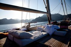 On a ship. | 39 Places You Want To Sleep Right Now