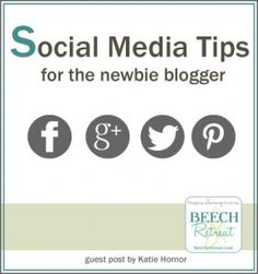 Social Media Tips for the Newbie Blogger via @Bianca Locsin Retreat