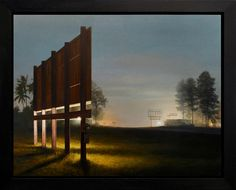 ARCADIA CONTEMPORARY - Stephen Fox - Hidden Message- Oil on linen