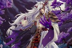 Ibaraki Douji and co. Onmyoji by Setsuna-Yagami on DeviantArt Character Art, Character Design, Ibaraki, Monster Girl, Anime Demon, True Colors, Comic Art, Fantasy Art, Cool Pictures