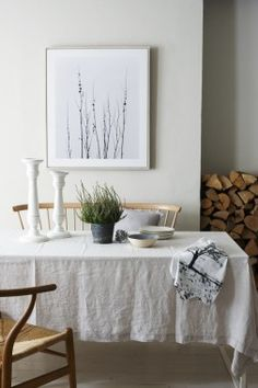 Choose the right fabric: Silk is a luxurious, indulgent fabric – great for a bedroom. Muslin and plain cotton have a rustic, simple feel – just right for table dressing in a country kitchen.