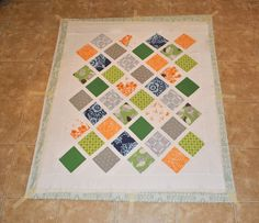 Spray basting, is a quick & effective way to baste your backing, batting & quilt top. Enjoy this easy photo tutorial.