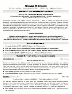 sales executive resume format httpjobresumesamplecom1344sales - Examples Of Effective Resumes