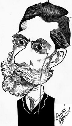 Machado de Assis, por André Brown