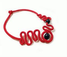 Tube Concept Crochet Jewelry by Vanessa Handmade - The Beading Gem's Journal
