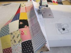 Using up my fabric stash, one scrap at a time!
