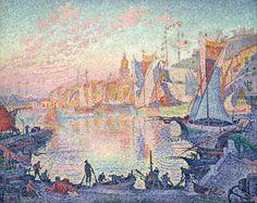 ポール・シニャック Paul Signac : The Port of Saint-Tropez : National Museum of Western Art